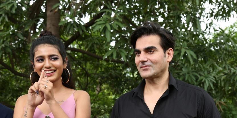 Sridevi Bungalow: On Set Pics of Arbaaz Khan and Priya Prakash Varrier's Controversial Film Released