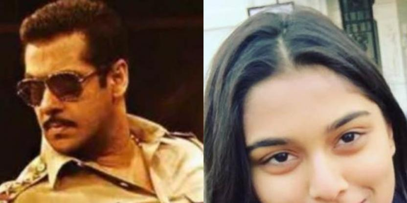 Salman Khan is Romancing a Young Girl in Dabangg 3. Find out who Saiee Manjrekar is