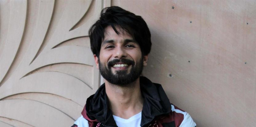 Shahid Kapoor Works Up A Sweat At the Gym