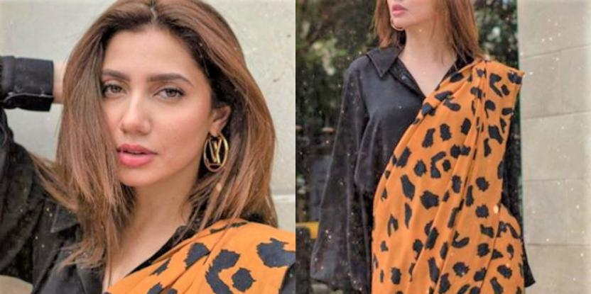 Mahira Khan Wrapped in the Love for Saree