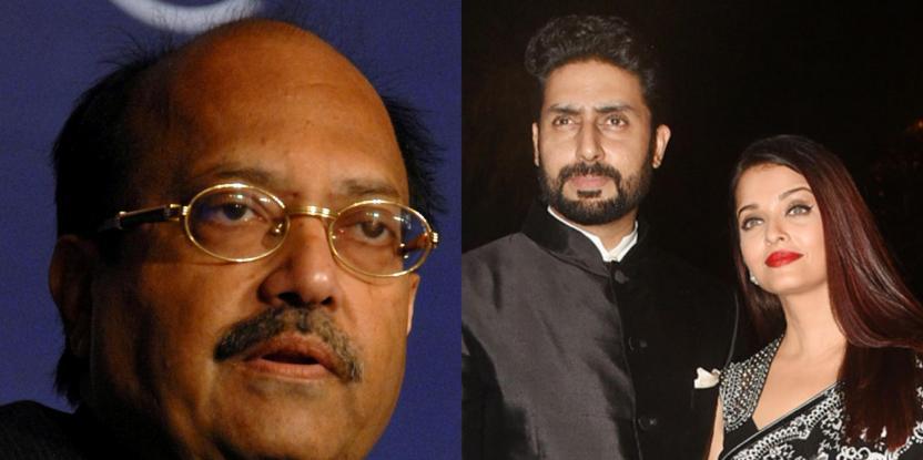 Bachchans vs. Amar Singh: Politician Takes Digs at Aishwarya Rai and Abhishek in Facebook Video