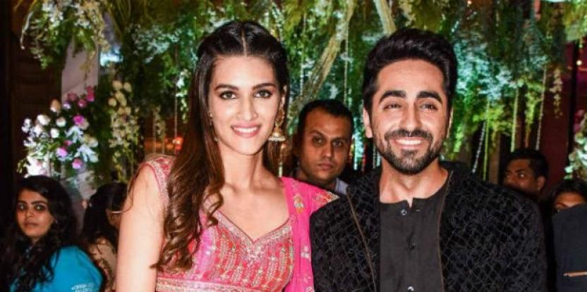 Ayushmann Khurrana Wishes Kriti Sanon with the Sweetest Birthday Message…