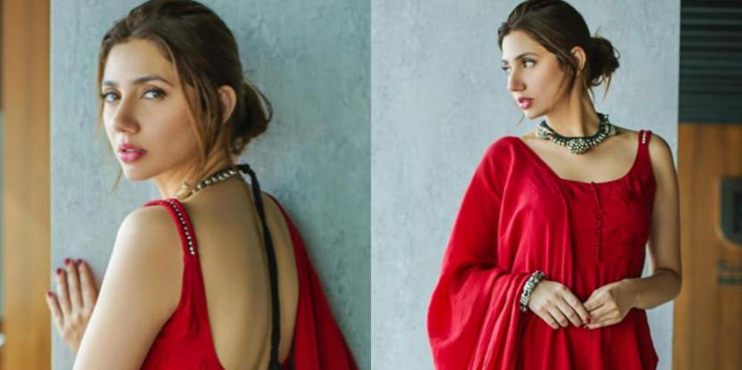 Mahira Khan Looks Like a Vision in Red and Hits Back at Haters!