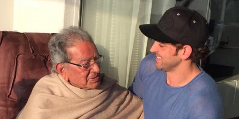 Hrithik Roshan's Grandfather J OM Prakash Passes Away at 93, Leaving Bollywood in Mourning