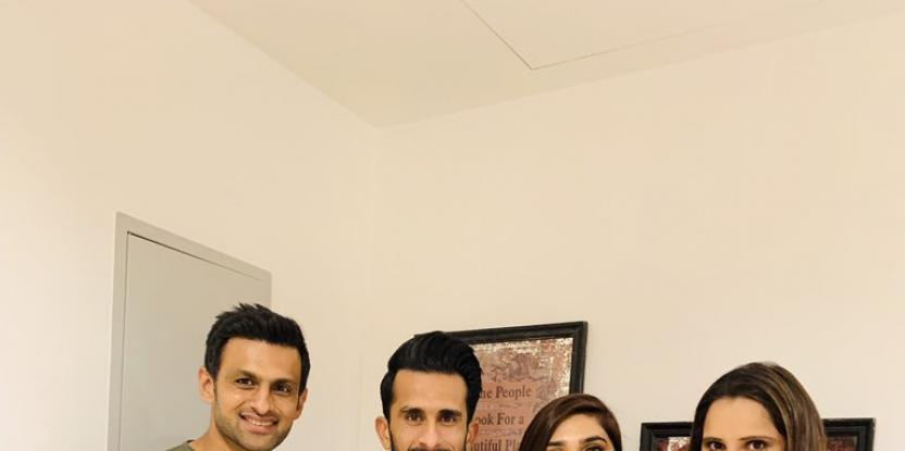 Sania Mirza and Shoaib Malik Invite the Newlywed Couple Hassan Ali and Samiya Arzoo For a Post-Wedding Dinner