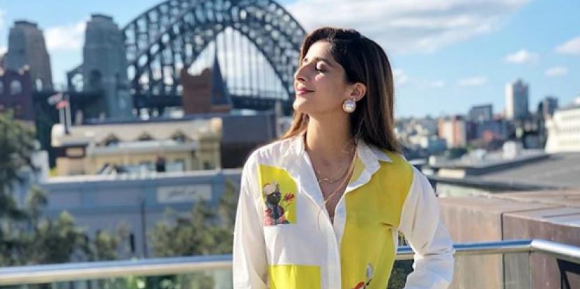 Mawra Hocane's Holiday in Australia: Touring Sydney Museum with Uzma Gillani