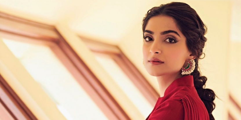 Sonam Kapoor Opts For Yet Another Look in Red For Film Promotions