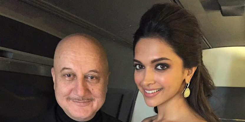 Anupam Kher Admits to Making Deepika Padukone Cry. Here's What He Did!