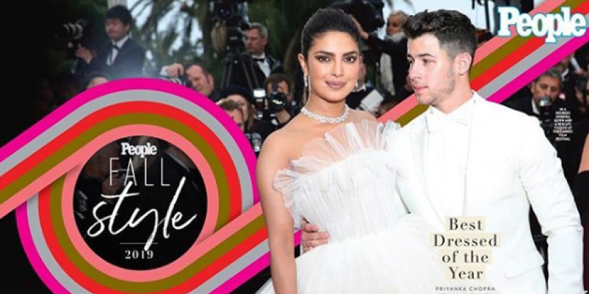Priyanka Chopra and Nick Jonas Declared the Best Dressed People