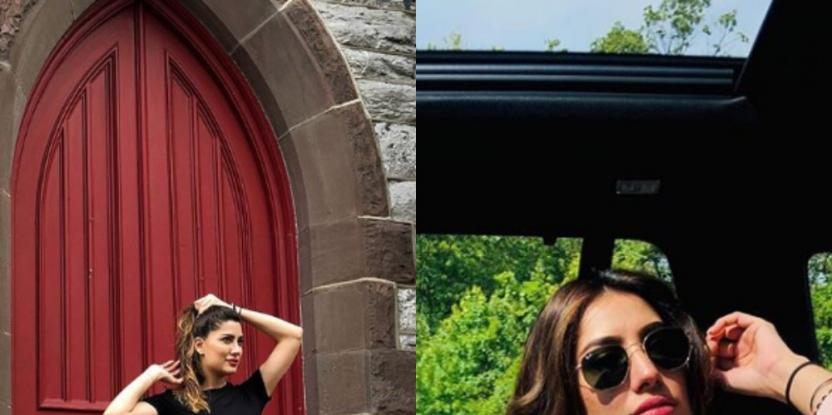 Mehwish Hayat is Living a Dream During Her US Vacation