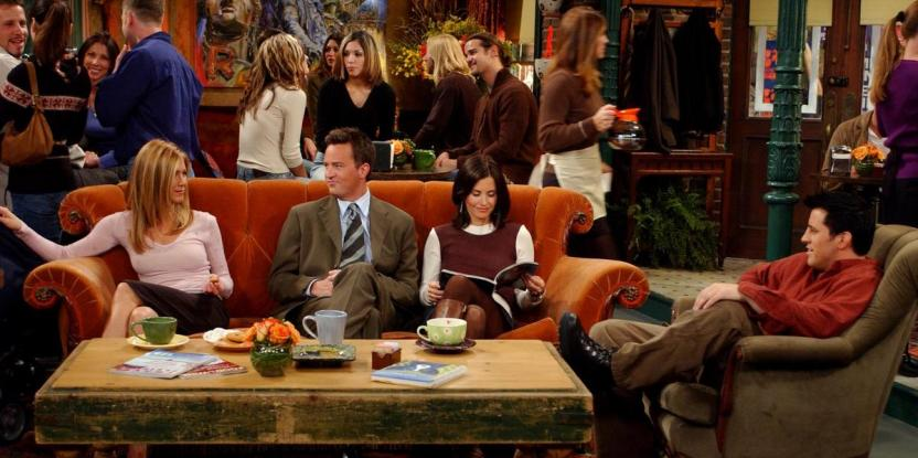 Friends Famous Sofa from Central Perk is Coming to Dubai This Month