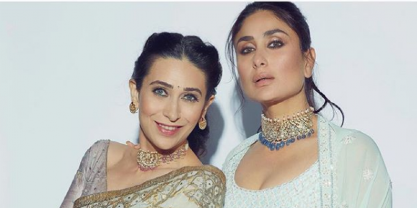Karisma and Kareena Kapoor are Sister Goals