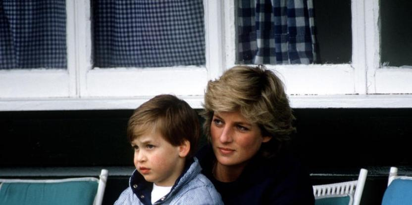 Prince William Posts a Picture of Princess Diana for the First Time on His Official Instagram Account