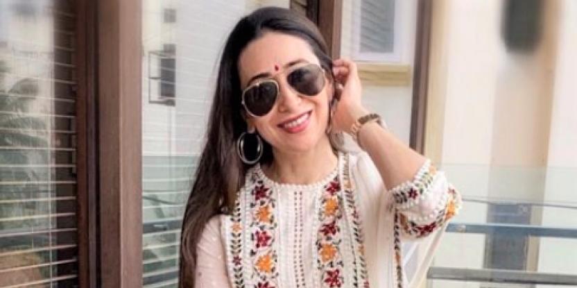 Karisma Kapoor Looks Ethereal in Desi Attire