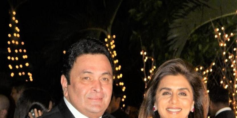 Rishi Kapoor and Neetu Singh Return to India After One Year