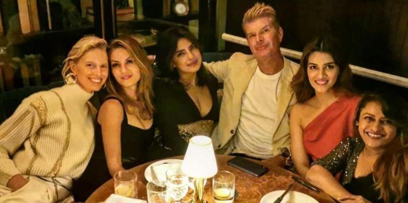 Kriti Sanon Has a Lovely Time with Girl Crush Priyanka Chopra Post New York Fashion Week show