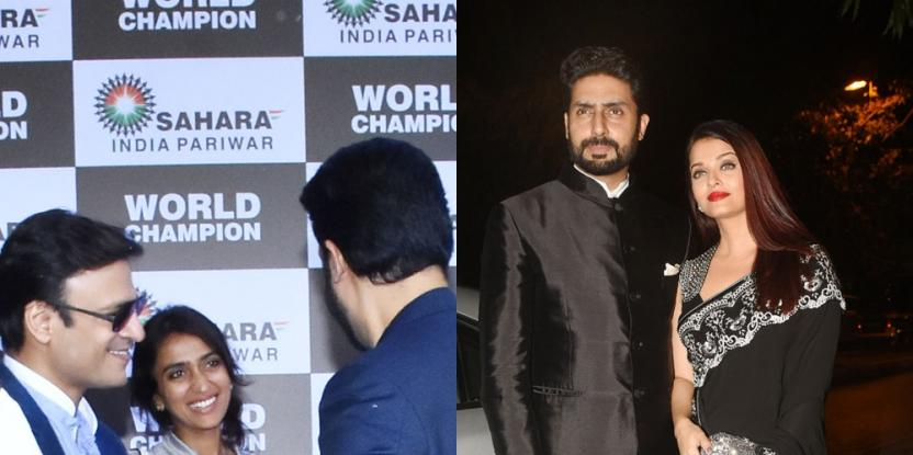 """Aishwarya Rai Bachchan Reportedly Agitated with Husband Abhishek for Being """"Over Friendly"""" With This One of Her Exes"""