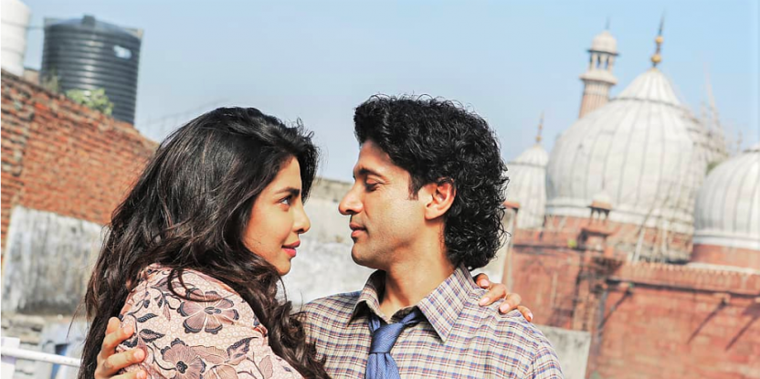 Priyanka Chopra, Farhan Akhtar Arrive For Film Promotions In Style