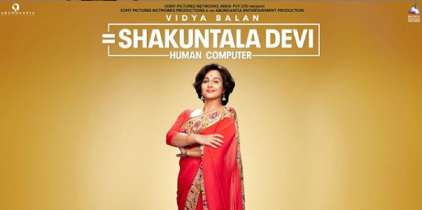 Vidya Balan Reveals First Look as Math Wizard Shakuntala Devi