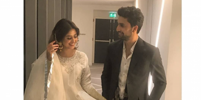 Ahad Raza Mir and Sajal Ali's Reported Feature Film: Curb Your Fandom!
