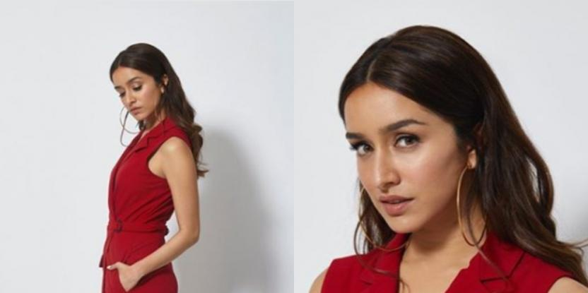Shraddha Kapoor Makes a Strong Case for Red in Latest Look