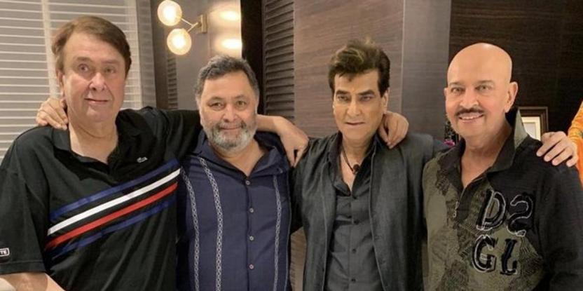Rishi Kapoor Thanks Randhir Kapoor, Jeetendra and Rakesh Roshan For a Warm Welcome