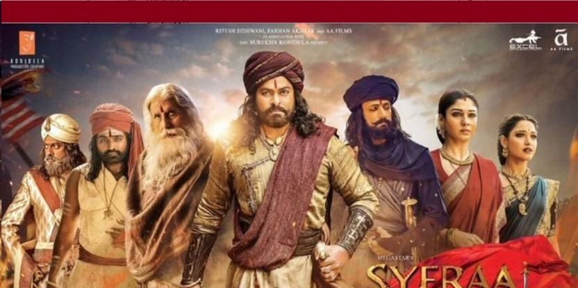 Sye Raa Narasimha Reddy Box Office: Chiranjeevi's Film Emerges as the Fifth Biggest Tollywood Hit