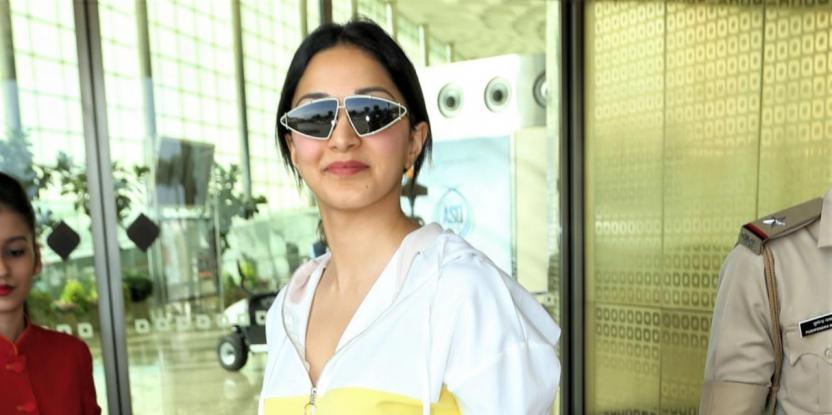 Kiara Advani Looks Pretty in Desi Attire for Latest Airport Look