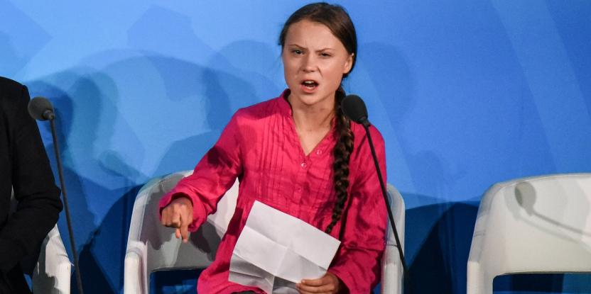Greta Thunberg, the Sixteen-Year-Old Climate Activist, Who Knows Climate Change is Real