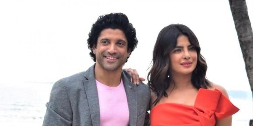 Priyanka Chopra and Farhan Akhtar Come Together For Film Promotions