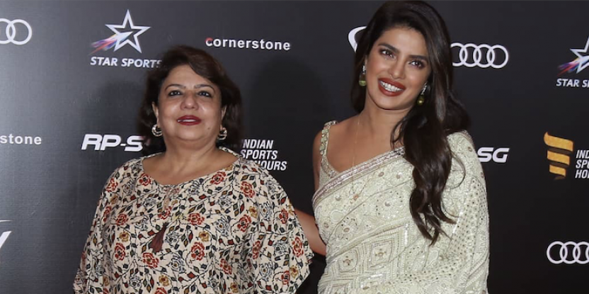 Priyanka Chopra Makes Appearance With Mother, Madhu At Sports Awards