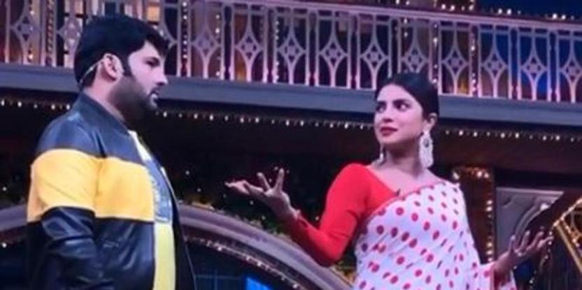 Priyanka Chopra Asks Kapil Sharma to Choose Between INR2 Crore or Six Hot Girls! Guess What He Chose?