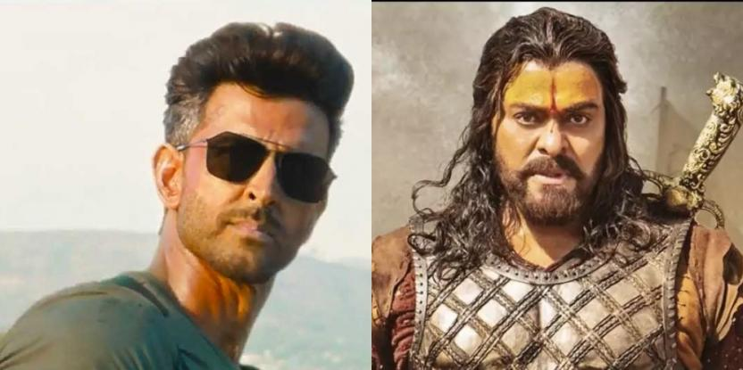 Hrithik Roshan's War and Chiranjeevi's Sye Raa Narasimha Reddy are OVER 150 Minutes Long