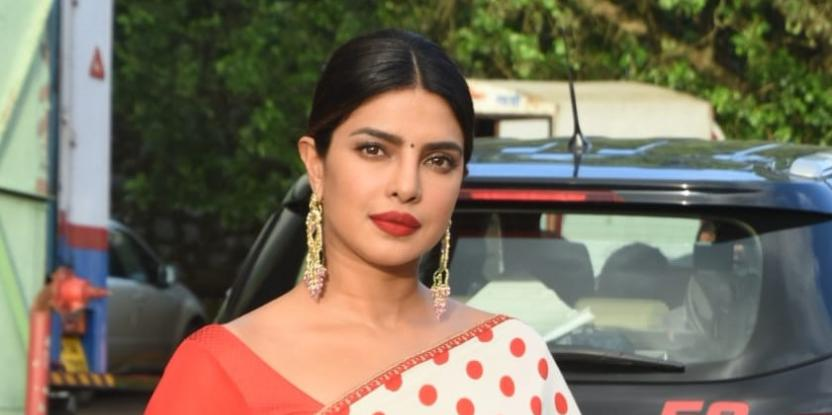 Priyanka Chopra Turns Desi Girl In Recent Look For Film Promotions
