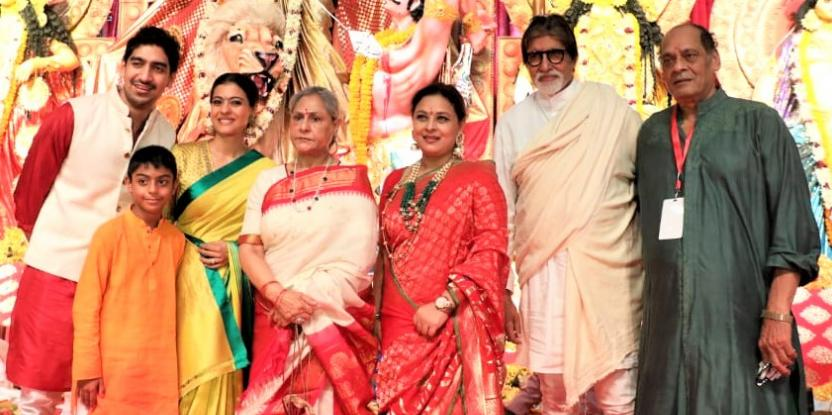 Amitabh Bachchan, Kajol, Priyanka Chopra and Other Bollywood Stars Celebrate Durga Ashtami
