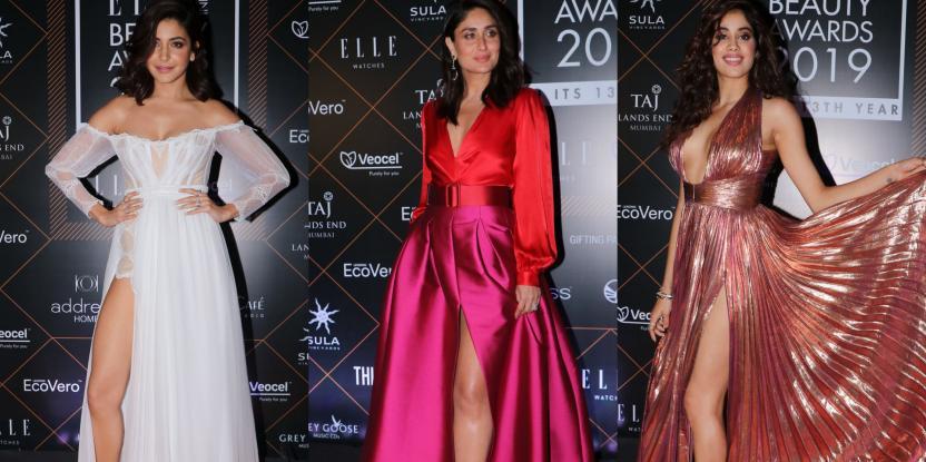 Anushka Sharma, Kareena Kapoor and Jahnvi Kapoor Show Us How to Rock a Thigh High Slit