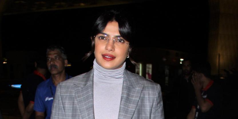 Priyanka Chopra's Makeshift Office Is Major Goals