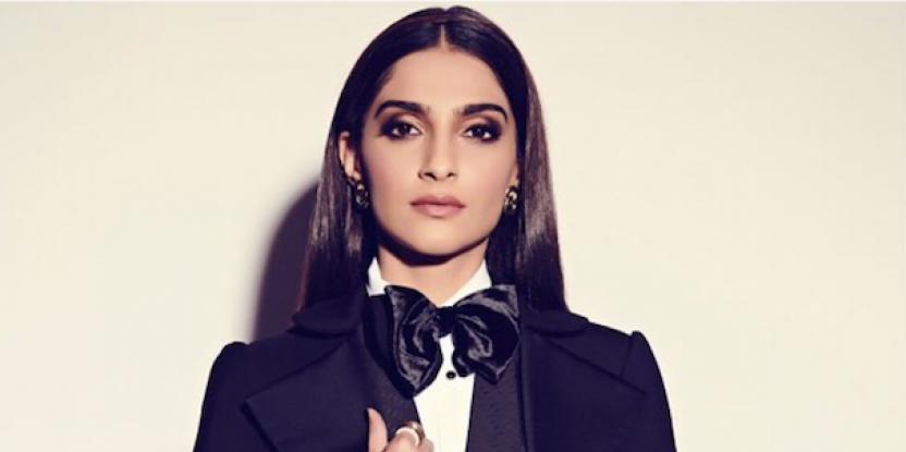 Sonam Kapoor Slays the Day In Tuxedo Suit