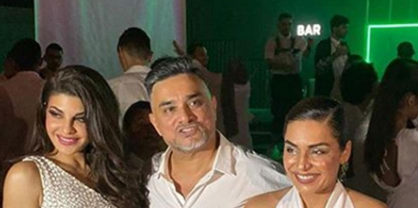 Jacqueline Fernadez and Meera party together in Dubai after the fashion show