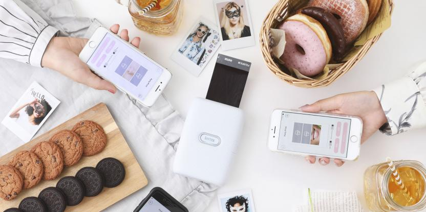 Fujifilm Instax Launches Instax Mini Link: Don't Take Pictures, Give Them!