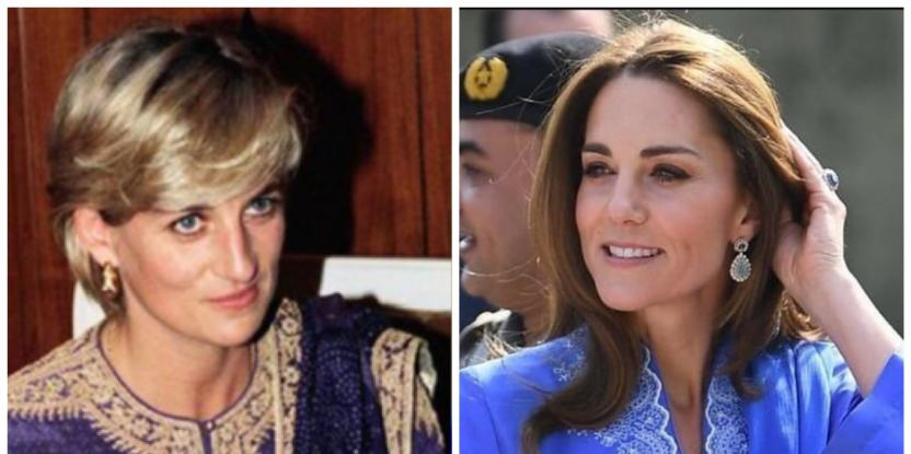 Two Times Kate Middleton Channeled Lady Diana On The Royal Visit