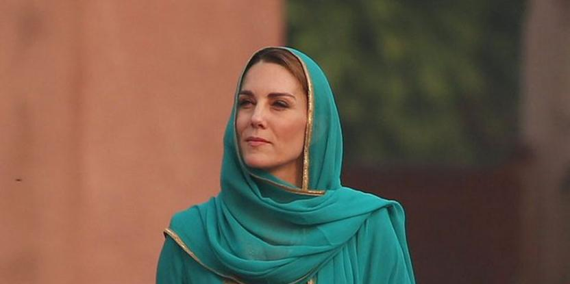 Kate Middleton channels Lady Diana for her visit to Badshahi Masjid
