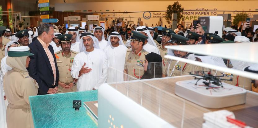 Dubai Police Unveils its First Floating Police Station Project during GITEX 2019