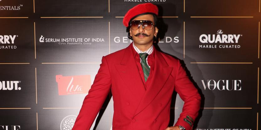 Ranveer Singh Leaves A Lasting Impression In Latest Look