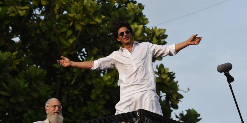 Shah Rukh Khan Shares Son AbRam's Reaction to His Interview With David Letterman on Netflix