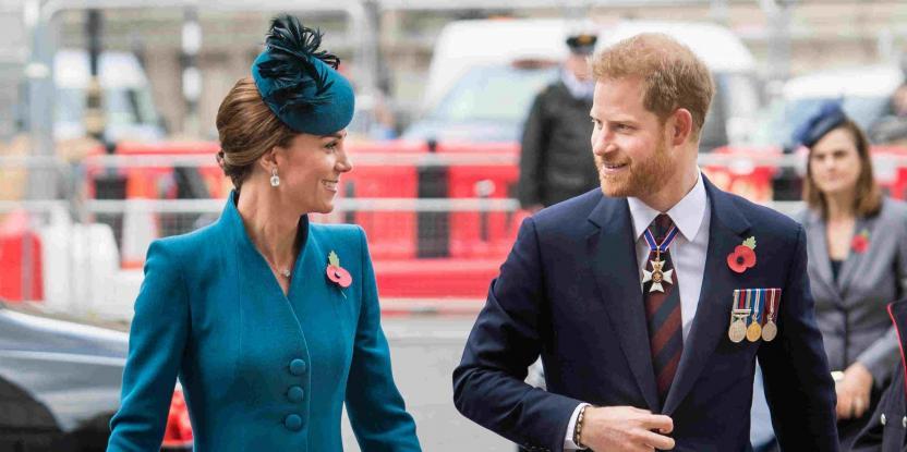 Prince Harry Considered Kate Middleton His Elder Sister