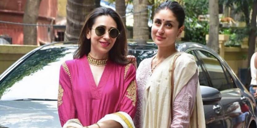 Kareena Kapoor, Karisma Kapoor Are Pretty In Pink This Diwali