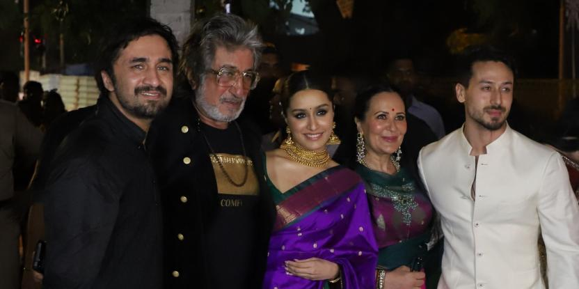 Celebrities At The Diwali Bash Hosted By Amitabh Bachchan And Family