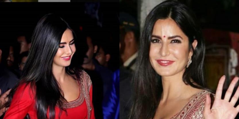 Katrina Kaif Makes a Ravishing Statement in Red this Diwali