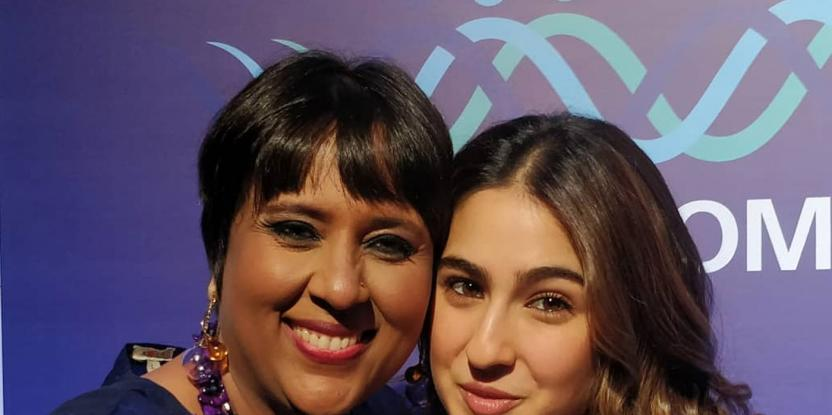 Sara Ali Khan Share Stage with Barkha Dutt at We The Women Festival